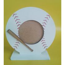 20 Portarretratos Baseball Beisbol Pelota Pintados