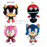 Sonic Boom Peluches Big Head Sega Tomy 17 Cm