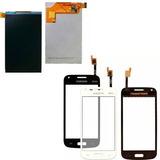 Tela Touch E Display Samsung Galaxy Trend 3 Duos Sm-g3502t