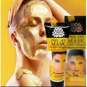 Mascarilla Facial De Oro 24k Y Colageno Importada