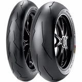 Par Pneu Pirelli Supercorsa Sp V2 120/70-17 + 180/55-17