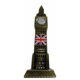 Relógio Big Ben Londres Funciona Verdade 29,5 Cm Altura