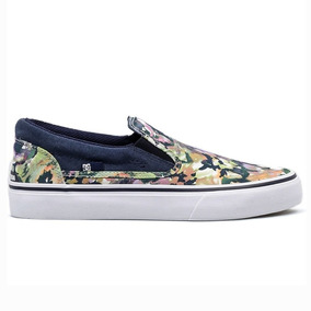 Tenis Skateboarding Trase Slip On Mujer Dc Shoes Dc091