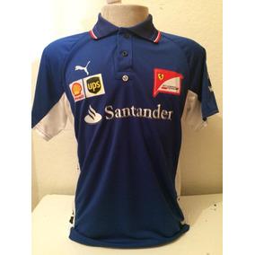 e23221946b Camiseta Camisa Ferrari Santander Masculina Promoção