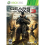 Gears Of War 3. Xbox 360. Nuevo Y Sellado