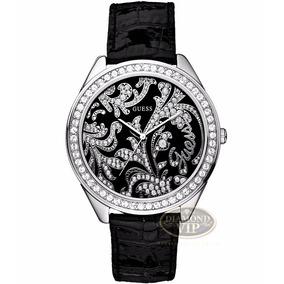 186f687c4b483 Relogio Guess Dourado Modelo Swarovski - Relógios De Pulso no ...