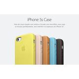 Capa Capinha Couro Premium Apple Iphone 5 5c 5s + Brinde