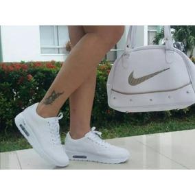 Combo Zapatillas Tenis Y Bolso Dama Calidad Colombiana