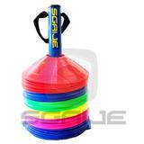Rack Porta Platos Con 50 Platillos Cono Soccer,crossfit