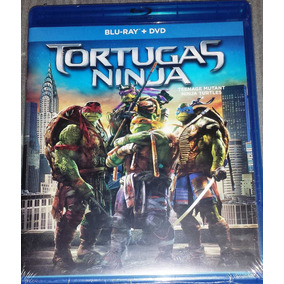 Blu Ray + Dvd Tortugas Ninja 2014 Con Megan Fox