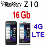 Blackberry Z10 16gb Negro Google Play 4g 8mp Nuevo Libre