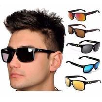 Óculos Oakley Holbrook 100% Polarizado Original Em Oferta