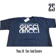 Kit 2 Camisetas Masculina Multimarcas Marca Estampada Blusa