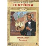 Dvd Grandes Personagens Da História Vol 2 Lincoln Pocahontas