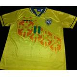 580cc43d8d Camisa Brasil Home 1994  11 Romario Tam. G (ler Descricao)