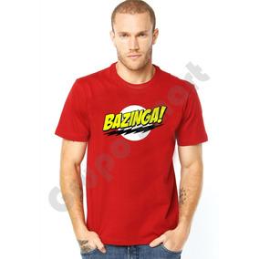 Camiseta - Bazinga Sheldon Cooper Big Bang Theory