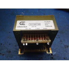 Transformador Elevador/ Reductor 115/ 230 V
