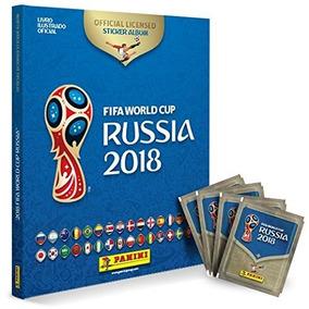 Álbum Copa Do Mundo Rússia 2018 - Capa Dura Com 60 Figurinha