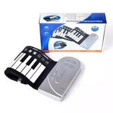 Mini Piano Teclado Flexivel 49 Teclas Sintetiza