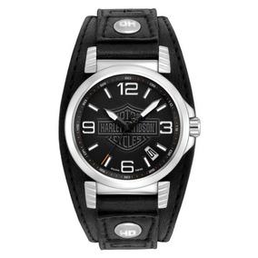 Reloj Harley Davidson Bulova Ghost & Bar Hombre