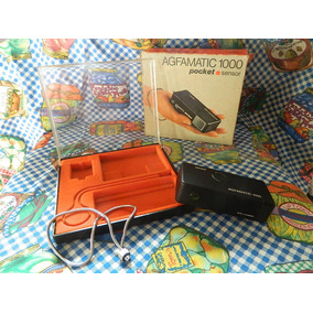 Camara Agfamatic 1000 Pocket Sensor C/ Estuche Coleccion
