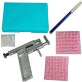 Pistola Piercing Metal 98 Piezas Profesional Nariz Cuerpo Ki
