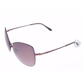 Óculos De Sol Tom Ford Colette Ft 250 48 Cobre