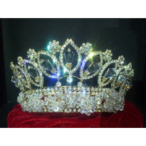 Corona Tiara Xv Años Boda Reina Princesa Carnaval Fiesta