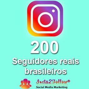 Comprar Seguidores No Instagram (200 Seguidores)