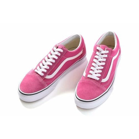 vans old skool fucsia