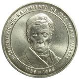 Moneda Bicentenario Nacimiento De José María Vargas 1986