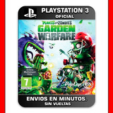 Plants Vs Zombies Ps3 :: Digital :: Garden Warfare Oferta