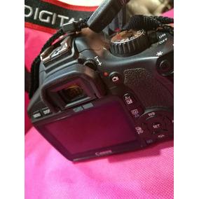 Canon T6 + Lente Canon 18-55mm Minimo Uso Entrega Solo Stgo