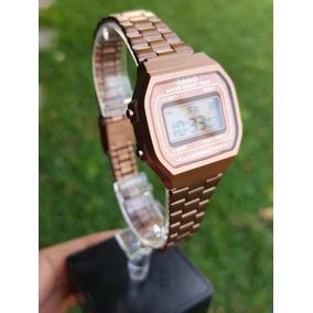 Reloj Casio Mini Rosa Matte Vintage 1572 Envio Gratis