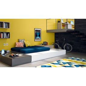 Amoblamientos de dormitorios juveniles en mercado libre for Amoblamientos juveniles
