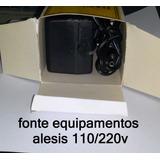 Fonte Para Alesis 9v 1amp Dm5 D4 Microverb Midiverb Nano