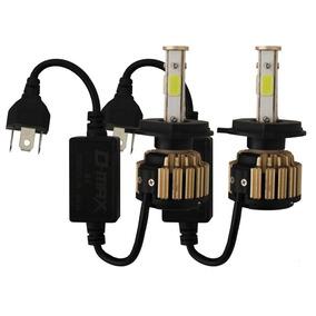 Kit Super Led H4 6000k 12000 Lumens 4d 48w 12v 24v D-max Par