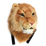Viahart Auténtico Tigerdome Lion Animal Head Mochila Mochil