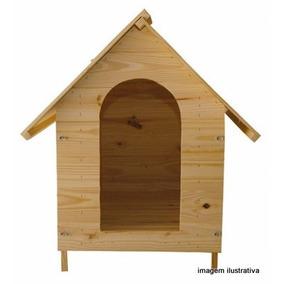 Casa Para Cães Em Madeira - Nº 3