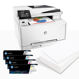 Impresora Hp Color Laser Pro M277dw Toner Original + Resma