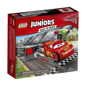 10730 Lego Juniors - Carros 3 - Pista De Lançamento Do Relâm