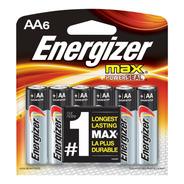 Pilas Aa Energizer Max Powerseal 6 Pilas