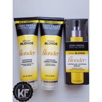 Kit John Frieda Sheer Blonde Lightening Com Spray Clareador