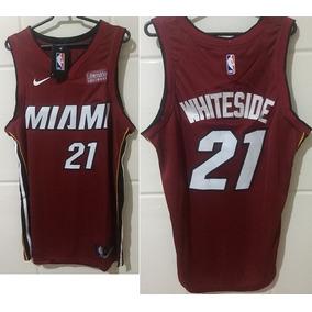 Camisa Regata Nba Miami Heat Nº21 Whiteside Oficial