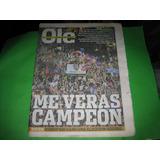 San Lorenzo Campeon Copa Libertadores Diario Ole 2013 Poster