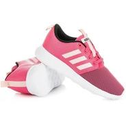 Tenis Para Niña adidas Rosa Aq1696 Original Nuevo