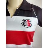 Camisa Santa Cruz Polo Feminina Tricolor