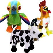 Granja Zenon O Canciones Zoo Peluche Musical Reino Infantil