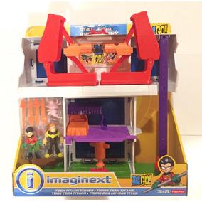 Teen Titans Go Torre Imaginext Jóvenes Titanes