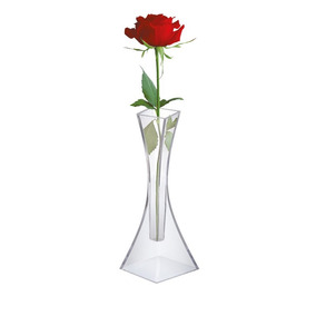 Vaso Solitario Acrilico Transparente Casamento Festa 0460